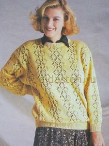 pulover-jeltiy