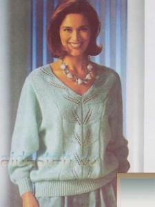 Пуловер Цвета Мяты
