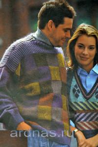 pulover-v-kletku