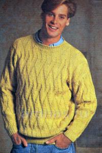 jelto-zeleniy-pulover