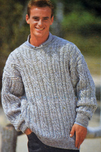 mujskoi-melanjeviy-pulover