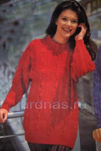 krasniy-pulover-s-kosami